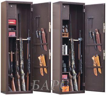 Оружейный сейф Gunsafe Барс EL