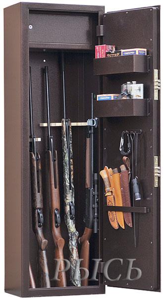 Крепление для ружья в сейфе