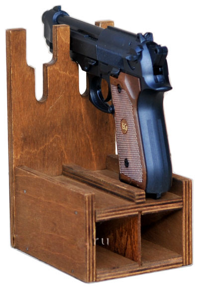 Ложемент для пистолета