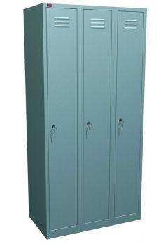 Шкаф металлический раздевальный ШРМ - 33